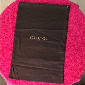 Gucci ( dust bag )